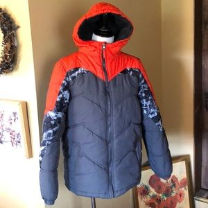 PACIFIC TRAIL size XL 18/20 Puffer Hood ColorBlock